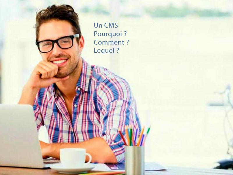 Quel CMS pour faire un site internet - image